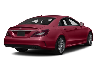 designo Cardinal Red Metallic 2017 Mercedes-Benz CLS Pictures CLS Sedan 4D CLS550 V8 Turbo photos rear view