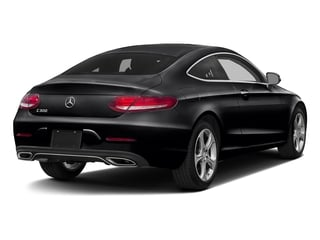 Black 2017 Mercedes-Benz C-Class Pictures C-Class C 300 Coupe photos rear view