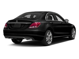 Obsidian Black Metallic 2017 Mercedes-Benz C-Class Pictures C-Class Sedan 4D C300 AWD I4 Turbo photos rear view