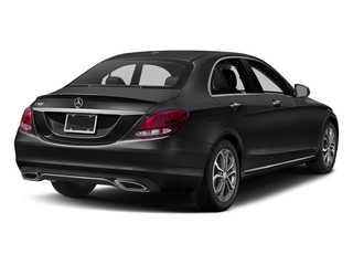 Black 2017 Mercedes-Benz C-Class Pictures C-Class Sedan 4D C300 I4 Turbo photos rear view
