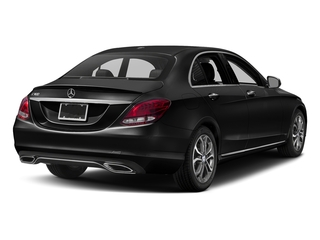 Obsidian Black Metallic 2017 Mercedes-Benz C-Class Pictures C-Class Sedan 4D C300 I4 Turbo photos rear view