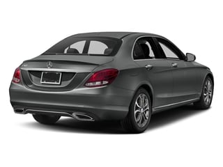 Selenite Grey Metallic 2017 Mercedes-Benz C-Class Pictures C-Class Sedan 4D C300 I4 Turbo photos rear view