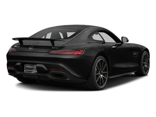 Magnetite Black Metallic 2017 Mercedes-Benz AMG GT Pictures AMG GT S 2 Door Coupe photos rear view