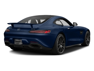 Brilliant Blue 2017 Mercedes-Benz AMG GT Pictures AMG GT S 2 Door Coupe photos rear view