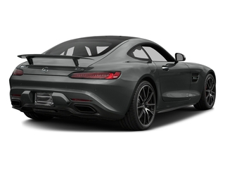 Selenite Grey 2017 Mercedes-Benz AMG GT Pictures AMG GT S 2 Door Coupe photos rear view