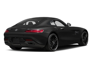 Magnetite Black Metallic 2017 Mercedes-Benz AMG GT Pictures AMG GT 2 Door Coupe photos rear view