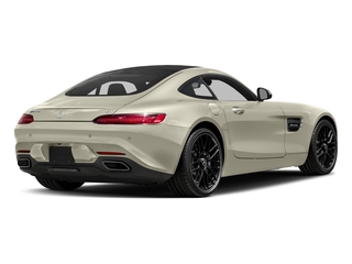 Diamond White Metallic 2017 Mercedes-Benz AMG GT Pictures AMG GT 2 Door Coupe photos rear view
