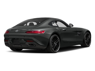 Selenite Grey 2017 Mercedes-Benz AMG GT Pictures AMG GT 2 Door Coupe photos rear view