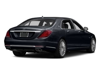 Anthracite Blue Metallic 2017 Mercedes-Benz S-Class Pictures S-Class Maybach S 600 Sedan photos rear view