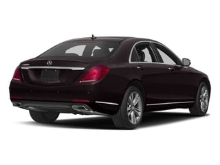 Ruby Black Metallic 2017 Mercedes-Benz S-Class Pictures S-Class Sedan 4D S550e V6 Turbo photos rear view