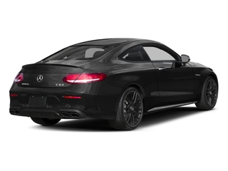 Obsidian Black Metallic 2017 Mercedes-Benz C-Class Pictures C-Class Coupe 2D C63 AMG V8 Turbo photos rear view