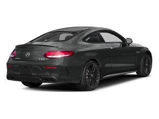 Selenite Grey Metallic 2017 Mercedes-Benz C-Class Pictures C-Class Coupe 2D C63 AMG V8 Turbo photos rear view