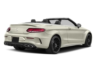 Polar White 2017 Mercedes-Benz C-Class Pictures C-Class AMG C 63 Cabriolet photos rear view