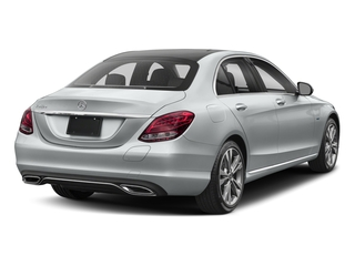 Iridium Silver Metallic 2017 Mercedes-Benz C-Class Pictures C-Class C 350e Sedan photos rear view