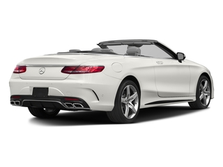 designo Magno Cashmere White (Matte Finish) 2017 Mercedes-Benz S-Class Pictures S-Class Convertible 2D S63 AMG AWD V8 Turbo photos rear view