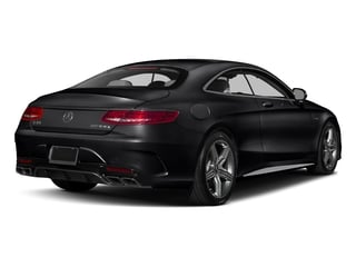 Black 2017 Mercedes-Benz S-Class Pictures S-Class AMG S 63 4MATIC Coupe photos rear view