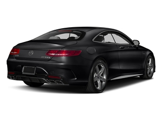 Black 2017 Mercedes-Benz S-Class Pictures S-Class Coupe 2D S63 AMG AWD V8 Turbo photos rear view