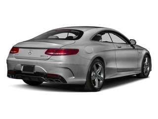 designo Magno Alanite Grey (Matte Finish) 2017 Mercedes-Benz S-Class Pictures S-Class Coupe 2D S63 AMG AWD V8 Turbo photos rear view