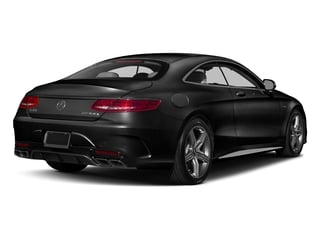 Obsidian Black Metallic 2017 Mercedes-Benz S-Class Pictures S-Class AMG S 63 4MATIC Coupe photos rear view