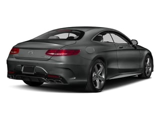 Selenite Grey Metallic 2017 Mercedes-Benz S-Class Pictures S-Class Coupe 2D S63 AMG AWD V8 Turbo photos rear view