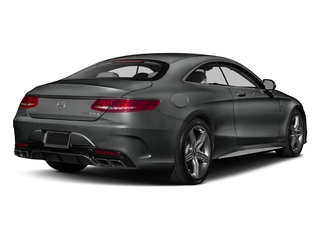Selenite Grey Metallic 2017 Mercedes-Benz S-Class Pictures S-Class AMG S 63 4MATIC Coupe photos rear view
