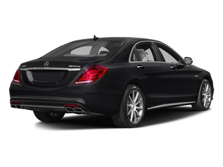 Black 2017 Mercedes-Benz S-Class Pictures S-Class Sedan 4D S63 AMG AWD V8 Turbo photos rear view