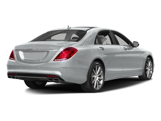 Iridium Silver Metallic 2017 Mercedes-Benz S-Class Pictures S-Class Sedan 4D S63 AMG AWD V8 Turbo photos rear view