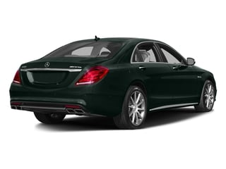 Emerald Green Metallic 2017 Mercedes-Benz S-Class Pictures S-Class Sedan 4D S63 AMG AWD V8 Turbo photos rear view