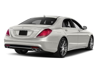 designo Magno Cashmere White (Matte Finish) 2017 Mercedes-Benz S-Class Pictures S-Class 4 Door Sedan photos rear view