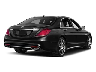 Magnetite Black Metallic 2017 Mercedes-Benz S-Class Pictures S-Class 4 Door Sedan photos rear view