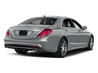 Iridium Silver Metallic 2017 Mercedes-Benz S-Class Pictures S-Class 4 Door Sedan photos rear view