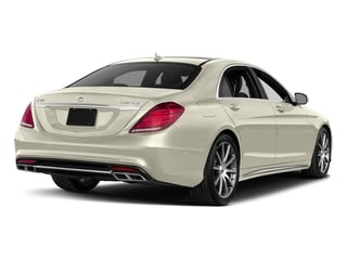 designo Diamond White Metallic 2017 Mercedes-Benz S-Class Pictures S-Class 4 Door Sedan photos rear view