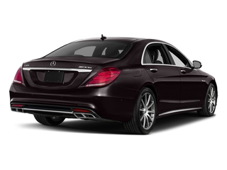 Ruby Black Metallic 2017 Mercedes-Benz S-Class Pictures S-Class 4 Door Sedan photos rear view