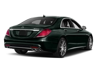 Emerald Green Metallic 2017 Mercedes-Benz S-Class Pictures S-Class 4 Door Sedan photos rear view