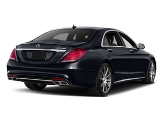 Anthracite Blue Metallic 2017 Mercedes-Benz S-Class Pictures S-Class 4 Door Sedan photos rear view