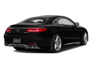designo Mocha Black 2017 Mercedes-Benz S-Class Pictures S-Class 2 Door Coupe photos rear view