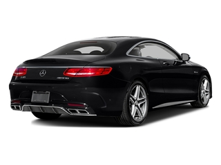 Black 2017 Mercedes-Benz S-Class Pictures S-Class 2 Door Coupe photos rear view