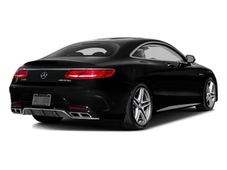 Obsidian Black Metallic 2017 Mercedes-Benz S-Class Pictures S-Class 2 Door Coupe photos rear view