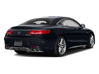 Anthracite Blue Metallic 2017 Mercedes-Benz S-Class Pictures S-Class 2 Door Coupe photos rear view