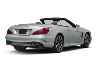 Iridium Silver Metallic 2017 Mercedes-Benz SL Pictures SL Roadster 2D SL450 V6 Turbo photos rear view