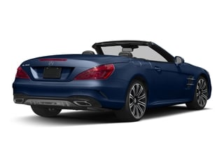 Brilliant Blue 2017 Mercedes-Benz SL Pictures SL Roadster 2D SL450 V6 Turbo photos rear view