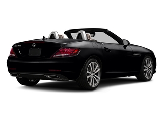 Black 2017 Mercedes-Benz SLC Pictures SLC Roadster 2D SLC300 I4 Turbo photos rear view