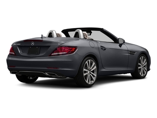 designo Shadow Grey Magno 2017 Mercedes-Benz SLC Pictures SLC Roadster 2D SLC300 I4 Turbo photos rear view
