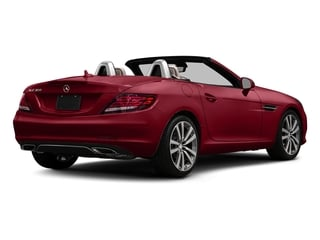 Mars Red 2017 Mercedes-Benz SLC Pictures SLC Roadster 2D SLC300 I4 Turbo photos rear view