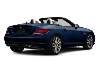 Brilliant Blue Metallic 2017 Mercedes-Benz SLC Pictures SLC Roadster 2D SLC300 I4 Turbo photos rear view