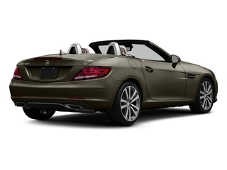 Indium Grey Metallic 2017 Mercedes-Benz SLC Pictures SLC Roadster 2D SLC300 I4 Turbo photos rear view
