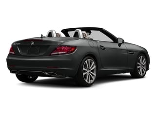 Selenite Grey Metallic 2017 Mercedes-Benz SLC Pictures SLC Roadster 2D SLC300 I4 Turbo photos rear view