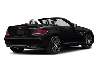 Black 2017 Mercedes-Benz SLC Pictures SLC AMG SLC 43 Roadster photos rear view