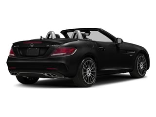 Obsidian Black Metallic 2017 Mercedes-Benz SLC Pictures SLC AMG SLC 43 Roadster photos rear view