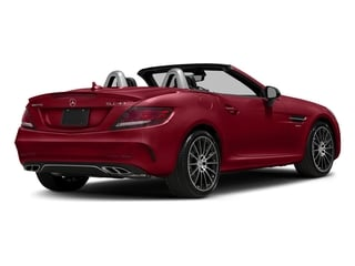 Mars Red 2017 Mercedes-Benz SLC Pictures SLC AMG SLC 43 Roadster photos rear view